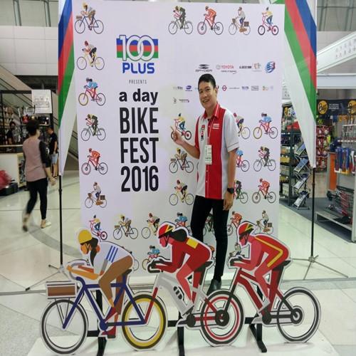 A day bike fest 2016 @ แอร์พอร์ท เรล ลิ้งค์ 2-5 ก.พ. 60