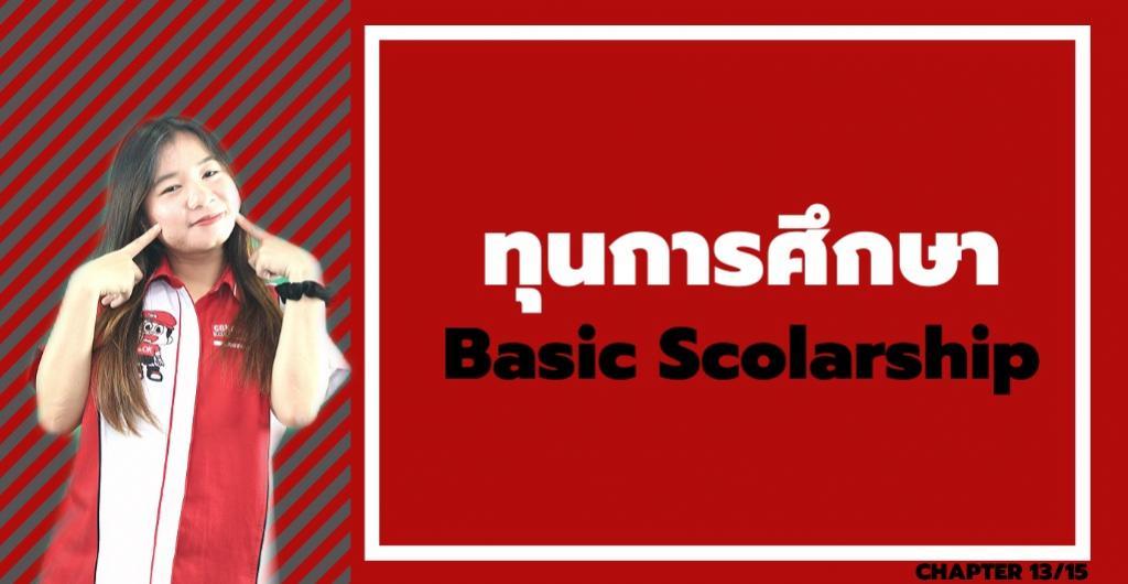 ทุนการศึกษา - ทุน Basic Scolarship