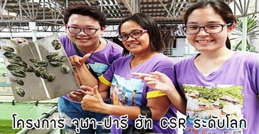 กิจกรรม CSR ระดับโลก บนเกาะสีชัง