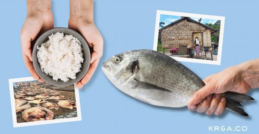 ข้าวชาวนา แลกปลาชาวเล วัฒนธรรมการแลกเปลี่ยนและแบ่งปัน