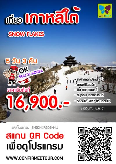 ทัวร์เกาหลี SNOW FLAKES